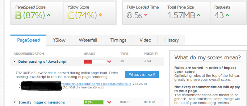 Slow Site Load Time