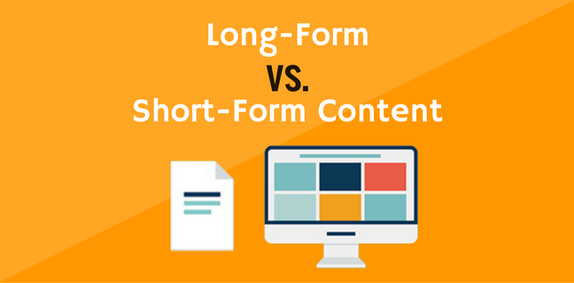 Long Form Content Does Not Mean In-Depth Article
